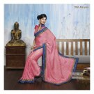 Faux Georgette Partywear Designer Embroidered Saree Sari With Blouse- LPT 2061 N