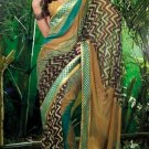 Sarees Sari Partywear Faux Georgette Designer Printed With Blouse - SM 611 N
