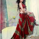 Faux Georgette Partywear Designer Printed Saree Sari With Blouse - X 2513 N