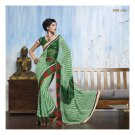 Faux Georgette Partywear Designer Embroidered Saree Sari With Blouse- LPT 2066 N