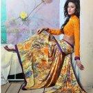 Faux Georgette Partywear Designer Printed Saree Sari With Blouse - X 2504 N