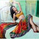 Faux Georgette Partywear Designer Printed Saree Sari With Blouse - X 2505 N
