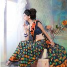 Faux Georgette Partywear Designer Printed Saree Sari With Blouse - X 2514 N