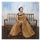 Raw Silk Partywear Designer Embroidered Saree Sari With Blouse- LPT 2067 N