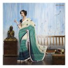 Faux Georgette Partywear Designer Embroidered Saree Sari With Blouse- LPT 2057 N