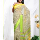Partywear Georgette Exclusive Designer Printed Saree With Blouse - X 917 N