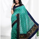 Partywear Cotton Exclusive Designer Printed Saree With Blouse - X 908 N