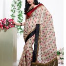 Partywear Cotton Exclusive Designer Printed Saree With Blouse - X 913 N