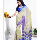 Partywear Georgette Exclusive Designer Printed Saree With Blouse - X 911 N