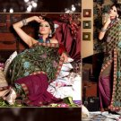 Georgette Brasso Bridal Wedding Designer Embroidery Saree with Blouse - X 2508 N