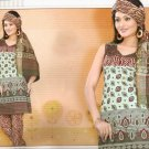 Soft Cotton Partywear Printed Shalwar & Salwar Kameez With Dupatta - X 5528 N