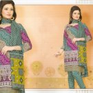 Soft Cotton Partywear Printed Shalwar & Salwar Kameez With Dupatta - X 5525 N
