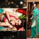 Georgette Bridal Wedding Designer Embroidery Saree with Blouse - X 2502 N