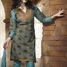 Designer Embroidered Suit Shalwar Salwar Kameez Indian Bollywood - X 9012b