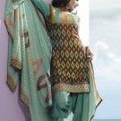 Designer Embroidered Suit Shalwar Salwar Kameez Indian Bollywood  - X 6020a