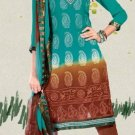 Designer Embroidered Suit Shalwar Salwar Kameez Indian Bollywood - X 3028