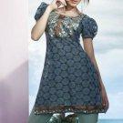 Designer Embroidered Suit Shalwar Salwar Kameez Indian Bollywood  - X 6025c