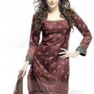 Designer Embroidered Suit Salwar Salwar Kameez Indian Bollywood- X1713c