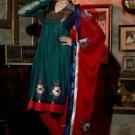 Chanderi Bridal  Designer Embroidered Salwar Kameez With Dupatta - X 2708A N