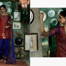Chanderi Bridal  Designer Embroidered Salwar Kameez With Dupatta - X 2719A N