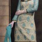 Designer Embroidered Suit Shalwar Salwar Kameez Indian Bollywood - X 9018b