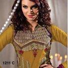 Designer Embroidered Suit Shalwar Salwar Kameez Indian Bollywood - X 1211c