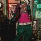 Chanderi Bridal  Designer Embroidered Salwar Kameez With Dupatta - X 2712B N