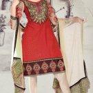Designer Embroidered Suit Shalwar Salwar Kameez Indian Bollywood - X 3012