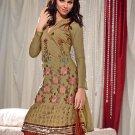 Designer Embroidered Suit Shalwar Salwar Kameez Indian Bollywood - X 1214a
