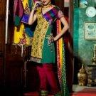 Chanderi Bridal  Designer Embroidered Salwar Kameez With Dupatta - X 2721B N