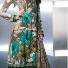 Shalwar Salwar Kameez Indian Designer Embroidered Crepe Suit - X 12
