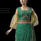 Indian Pakistani Shalwar Salwar Kameez Embroidered Fancy Party Wedding - X 8010a
