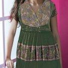 Indian Ethnic Bollywood Designer Beautiful Kurti Tops - X1130