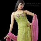 Indian Pakistani Shalwar Salwar Kameez Embroidered Fancy Party Wedding - X 8018a