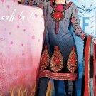 Indian Bollywood Designer Embroidered Suit Shalwar Salwar Kameez - X2805