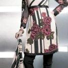 Shalwar Salwar Kameez Indian Designer Embroidered Crepe Suit - X 16