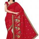 Indian Bollywood Designer Saree Embroidery Stylish Traditional Sari - TU 721