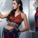 Satinpatti Georgette Bridal Designer Embroidered Sarees Sari With Blouse - X 412