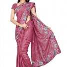 Indian Bollywood Designer Saree Embroidery Stylish Traditional Sari - TU 711