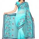Indian Bollywood Designer Saree Embroidery Stylish Traditional Sari - TU 720