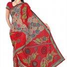Indian Bollywood Designer Saree Embroidery Stylish Traditional Sari - TU 574
