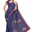 Indian Bollywood Designer Saree Embroidery Stylish Traditional Sari - TU 674
