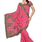 Indian Bollywood Designer Saree Embroidery Stylish Traditional Sari - TU 629