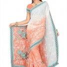 Indian Bollywood Designer Saree Embroidery Stylish Traditional Sari - TU 619