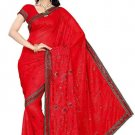 Indian Bollywood Designer Saree Embroidery Stylish Traditional Sari - TU 572