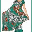 Indian Bollywood Designer Saree Embroidered Sari - Tu6756