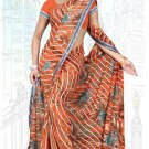 Indian Bollywood Designer Saree Embroidered Sari - Tu6753