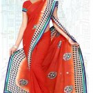 Indian Bollywood Designer Saree Embroidered Sari - Tu6739
