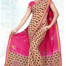 Indian Bollywood Designer Saree Embroidered Sari - Tu6750
