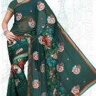 Indian Bollywood Designer Saree Embroidered Sari - Tu6735